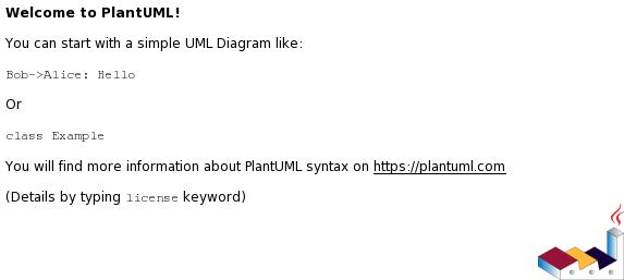 PlantUML Syntax: